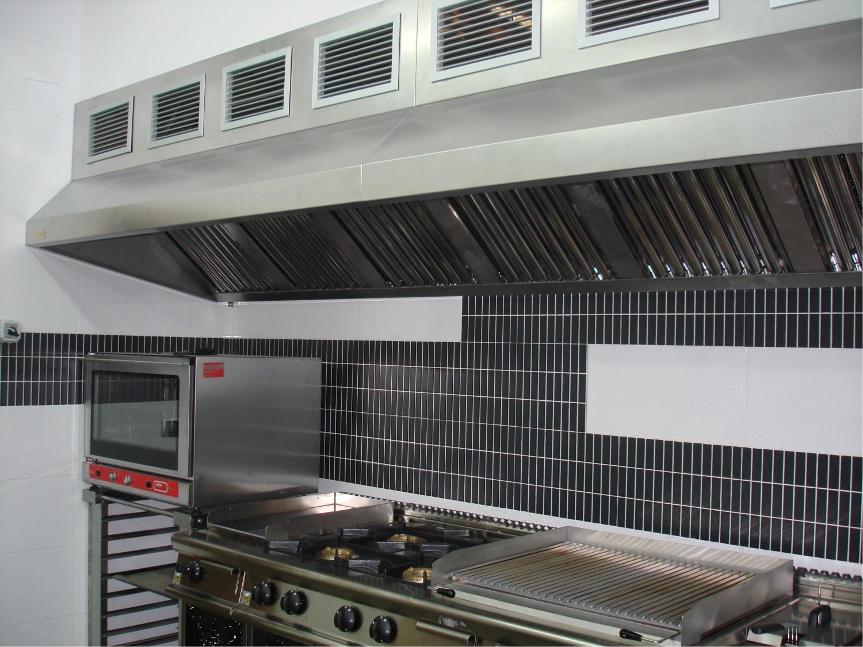 Campanas extractoras industriales hosteler a filtresa - Campana cocina industrial ...