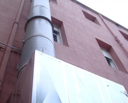 caja de ventilación