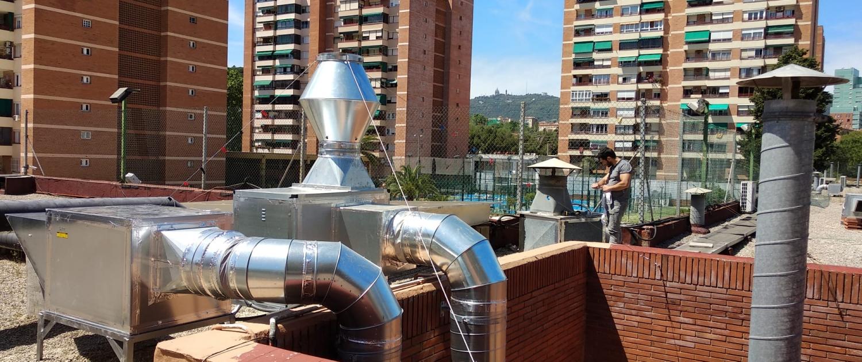 turbinas para la aportación y extracción de aire