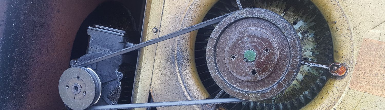 Cambio correa caja de ventilación